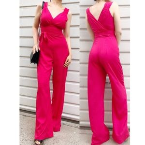 💋NEW Bebe Red jumpsuit